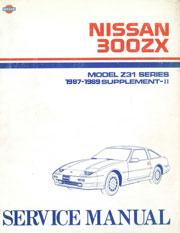 1990 nissan 300zx repair manual free