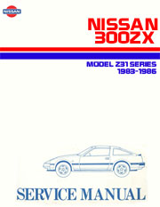 300zx z31 1986 service and repair manual