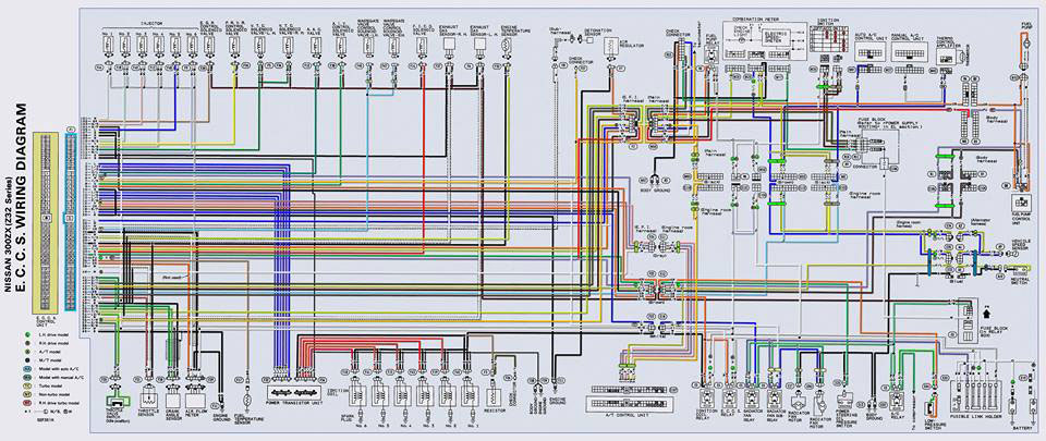 Wiring Diagram For Z32 Afm : Xenonzcar vg de tt and rbxxde wiring guide